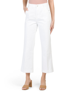 Made In Usa Joan Crop Trouser Jeans