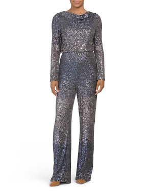 Sequin Ombre Jumpsuit