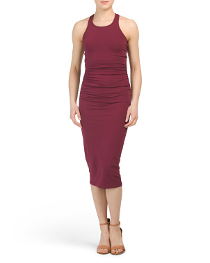 Petite Made In Usa Racerback Midi Dress