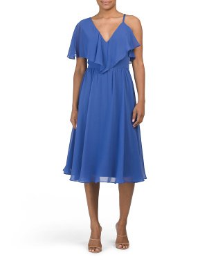 Claudia Asymmetrical A-line Dress