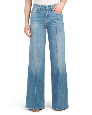 Le Palazzo Pintuck Jeans
