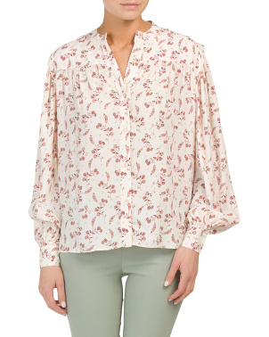 Voluminous Button Up Top