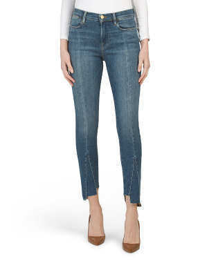 Le High Skinny Tri Gusset Jeans