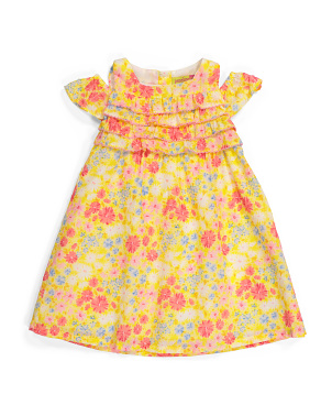 Toddler Girl Ruffled Sundress