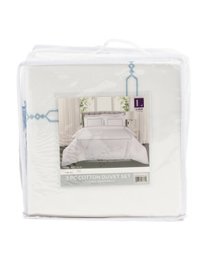 Hotel Geo Duvet Cover Set