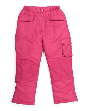 Little Girls Snow Pants