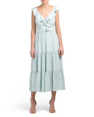 Australian Designed Alessia Tiered Maxi Dress