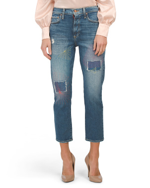 Amazing High Rise Slim Girlfriend Jeans