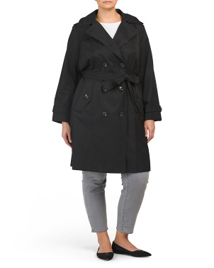 Plus Lightweight Coat