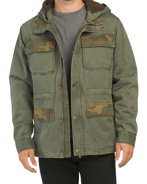 Sherpa Lined Field Jacket