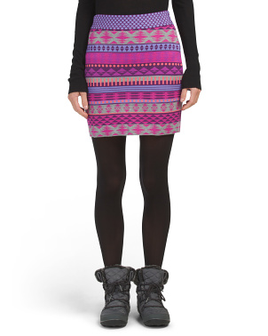 Jelena Sweater Knit Skirt