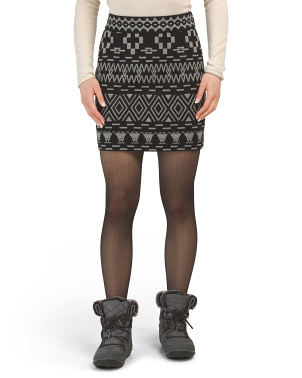 Prism Nordic Ski Sweater Skirt