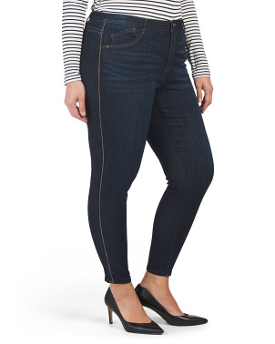 Plus Ab Tech High Waist Jeans