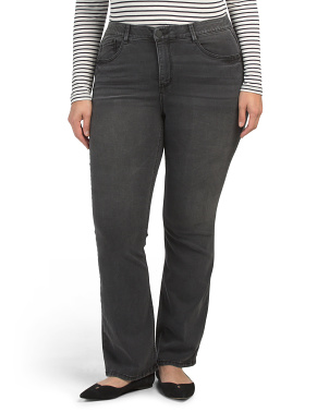 Plus Ab Solution High Rise Bootcut Jeans