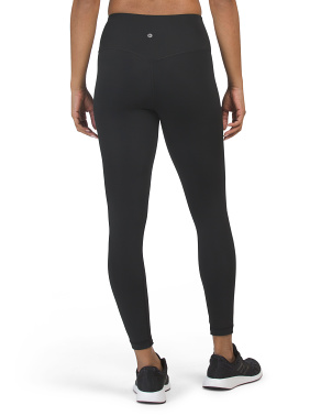 Tricot High Waist V-back Ankle Leggings