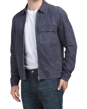 Jamie Summer Suede Jacket