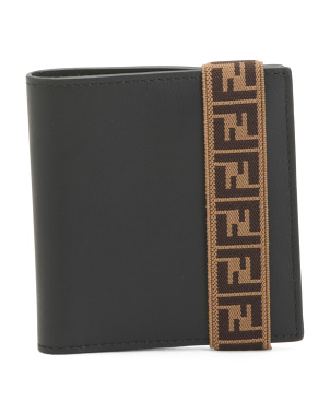 Made In Italy Rfid Ff Leather Wallet