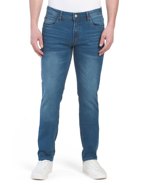 French Terry Denim Jeans