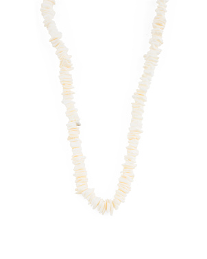 Made In Usa Puka Shell Necklace