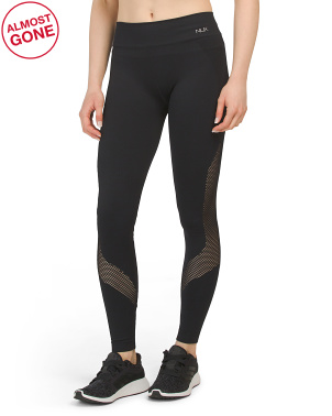 High Waist Seamless Ankle Leggings