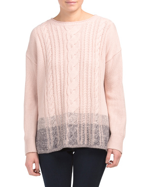 Long Sleeve Boat Neck Sweater