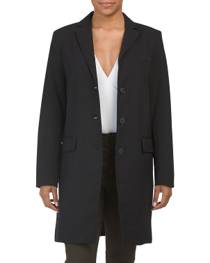 Three Button Longline Blazer