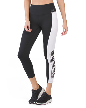 Sport Logo Novelty Pocket Leggings