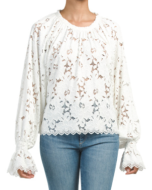 Olivia Lace Top