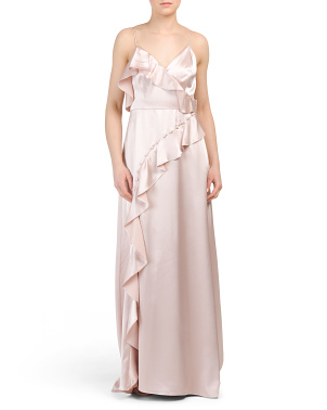 Liquid Satin Maxi Dress
