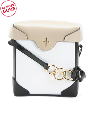 Leather Mini Pristine Crossbody
