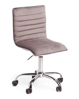 Rachel Velvet Office Chair