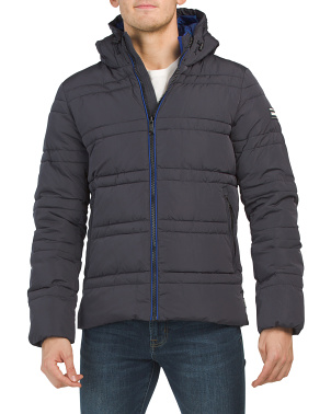 Classic Hooded Primaloft Jacket