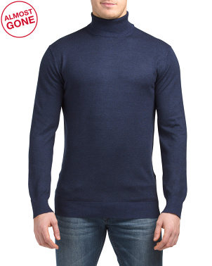 Classic Turtleneck Pullover Sweater