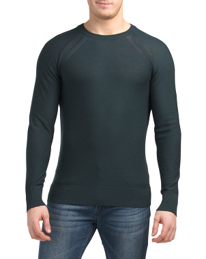 Classic Wool Crew Neck Pullover Sweater