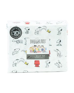 Snoopy And Woodstock Play Sheet Set