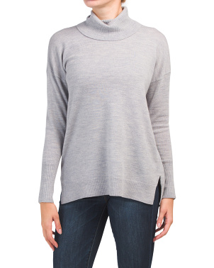 Extrafine Merino Wool Turtleneck Sweater
