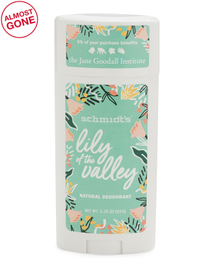 3.25oz Lily Of The Valley Natural Deodorant