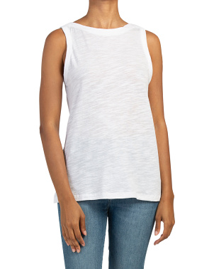 Malibu Slub Sleeveless Top