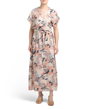 Love Blind Printed Maxi Dress
