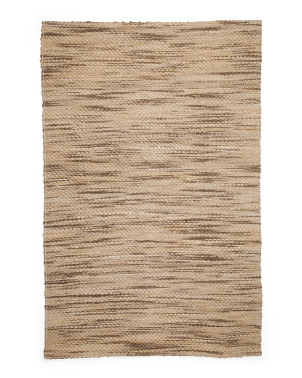 Handwoven Textured Natural Fiber Area Rug