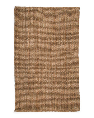 Natural Fiber Chunky Loop Area Rug