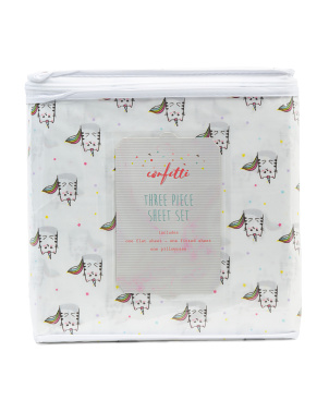 Kittycorn Sheet Set