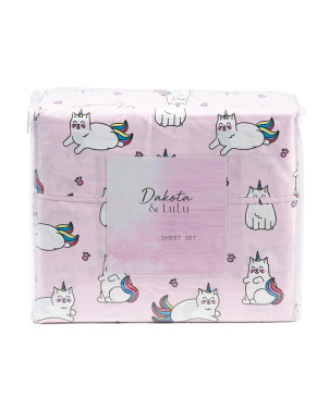 Magical Kitty Sheet Set