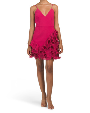 Australian Designed Golda Ruffle Mini Dress