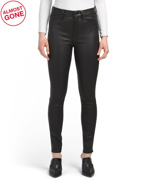 Lamb Leather Barbara High Rise Super Skinny Jeans