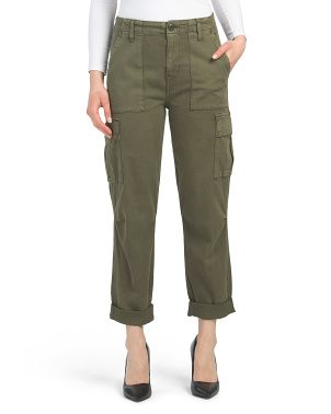 High Rise Classic Cargo Pants