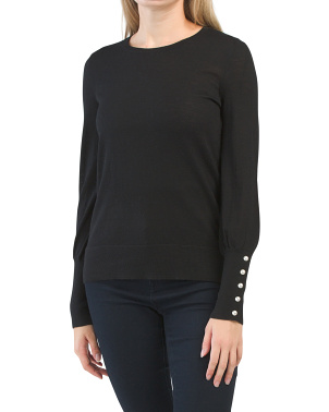 Extrafine Merino Wool Basic Sweater