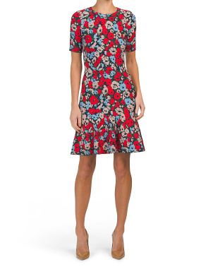Poppy Jacquard Dress