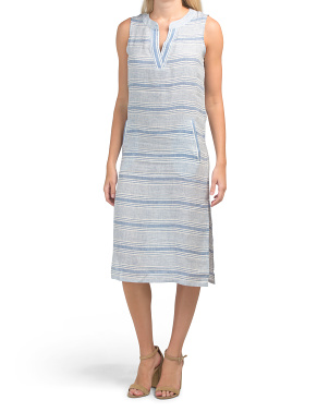 Linen Harbor Dress