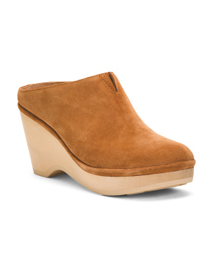 Ultimate Comfort Suede Clogs